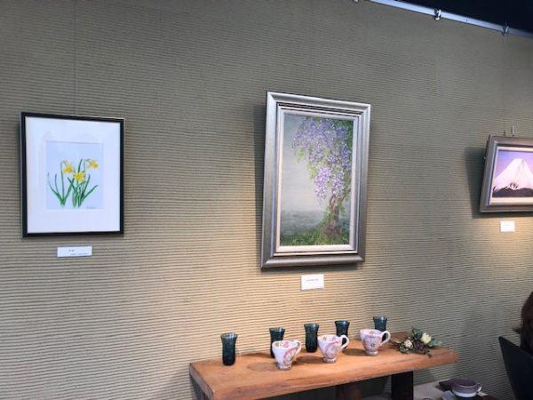 日本画展 渡辺信子『赤富士展』開催中サムネイル